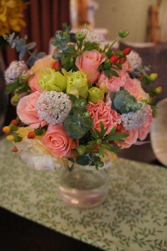 春日新娘捧花