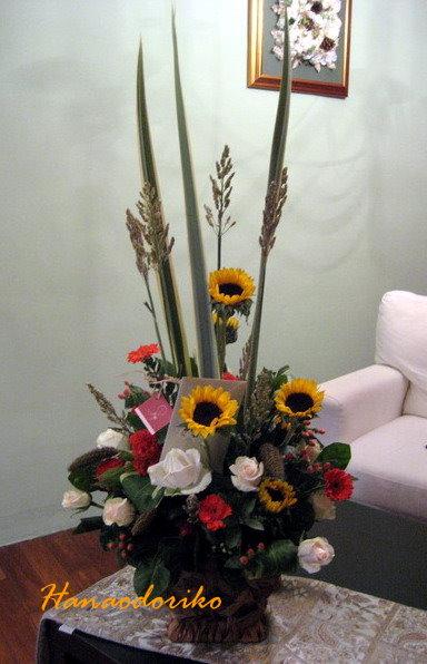 陽光向日葵盆花