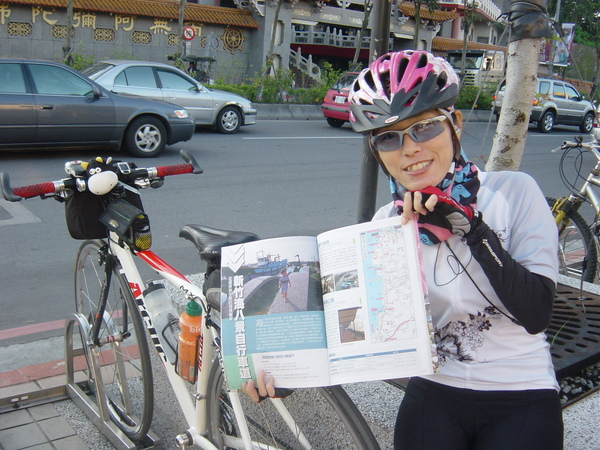 """早上買的雜誌剛好介紹到天的目的地~""""新竹海八景自行車道"""""""