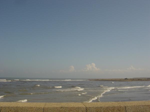竹圍。海邊