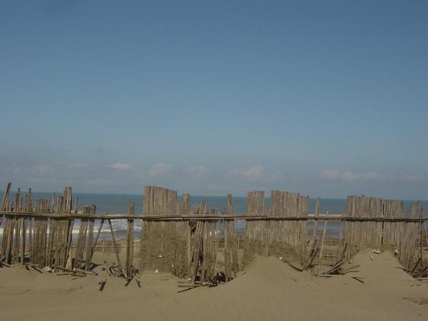 蕭瑟的海邊,莫名的小感傷