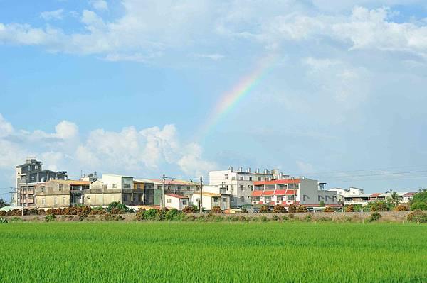 早晨的彩虹