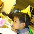 看著我的生日蛋糕