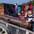 安平這個小鎮~相當的有古意,這是小砲台