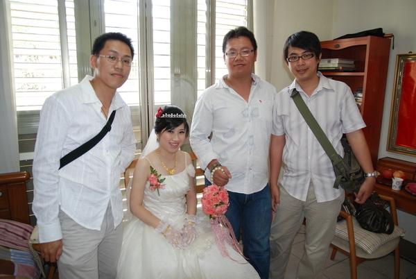 新娘&男生合照