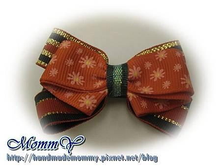 $50手工緞帶髮夾(髮夾本人)2011.11.07-7=手作MommY
