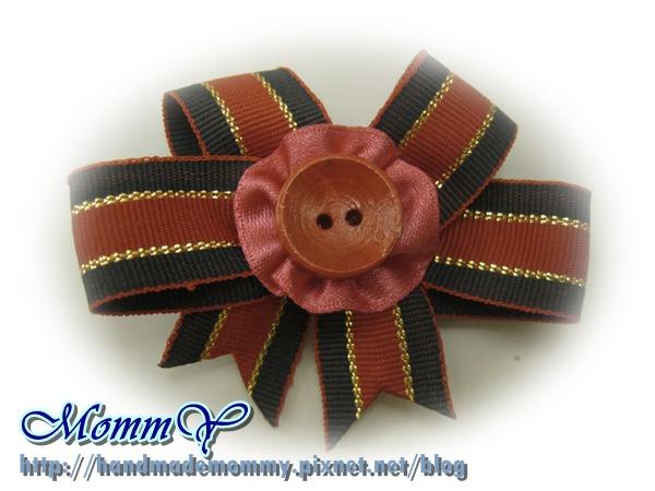 $30手工緞帶髮夾(髮夾本人)2011.11.07-2=手作MommY