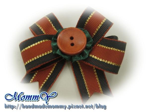 $30手工緞帶髮夾(髮夾本人)2011.11.07-3=手作MommY