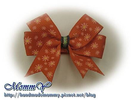 $30手工緞帶髮夾(髮夾本人)2011.11.07-5=手作MommY.JPG