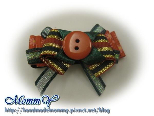 $50手工緞帶髮夾(髮夾本人)2011.11.07-6=手作MommY