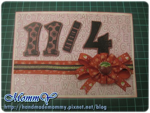 手工卡片2011.11.01-2=手作MommY.JPG