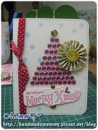 手工卡片-聖誕卡2011.12.01-2=手作MommY.JPG