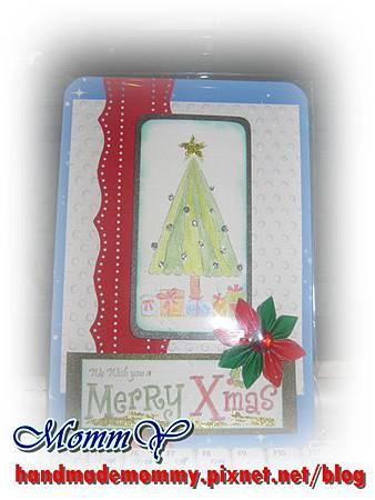手工卡片-聖誕卡2011.12.05-1=手作MommY.JPG