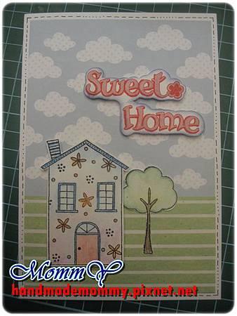 2012手工卡片-1月-Sweet Home1=手作MommY.JPG
