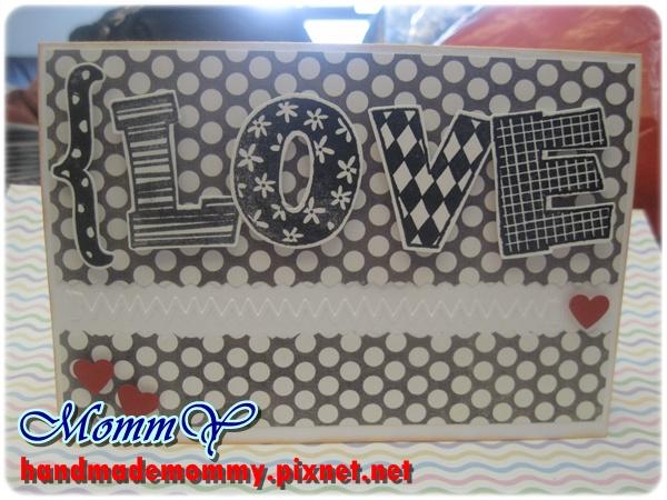 2012手工卡片-圓點(Love)1=手作MommY.JPG