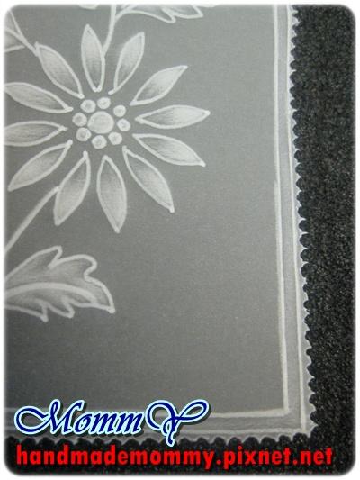 紙蕾絲-兩針邊框練習5