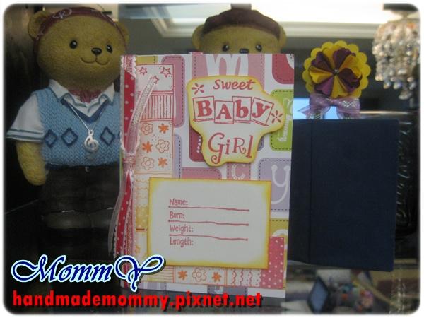 2012手工卡片-雙口袋卡(Double Pocket Card)-sweet girl0=手作MommY