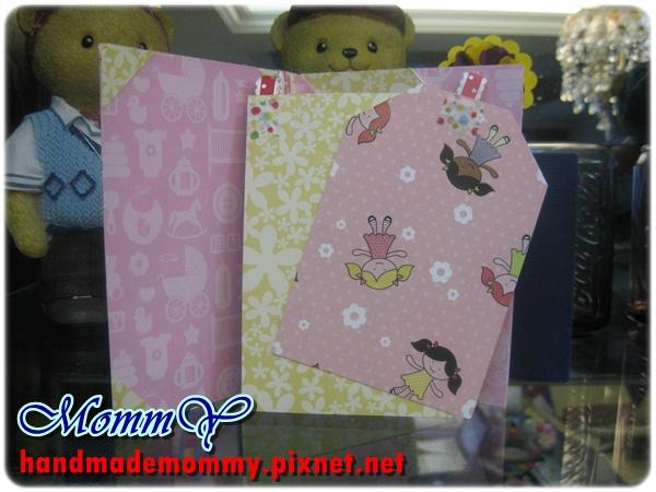 2012手工卡片-雙口袋卡(Double Pocket Card)-sweet girl3=手作MommY
