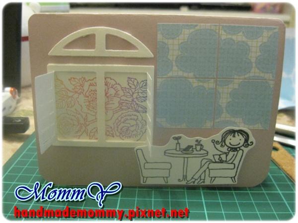 2012手工卡片-午後時光2=手作MommY