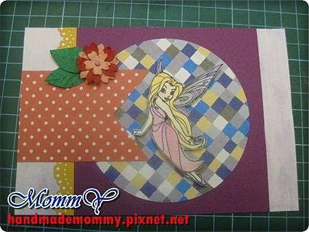 2012手工卡片-可愛花仙子1=手作MommY