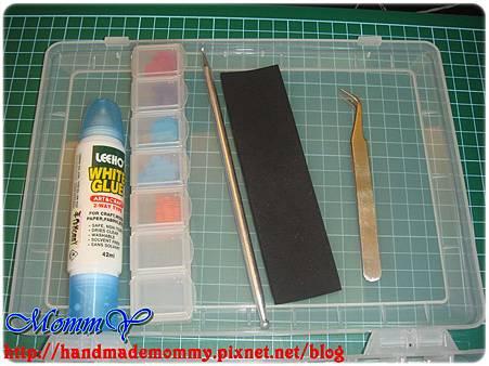 手作收納好物-紙花工作盒3