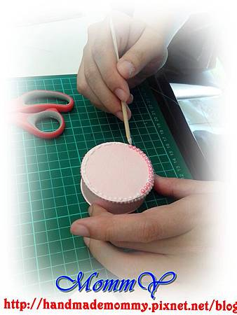 手作課花絮2013,04,28-禮物盒+雙層蛋糕6手作MommY