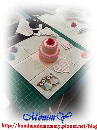 手作課花絮2013,04,28-禮物盒+雙層蛋糕11手作MommY