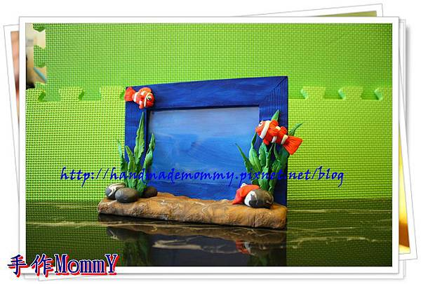 a2013,05,18-02-小丑魚相框=捏塑