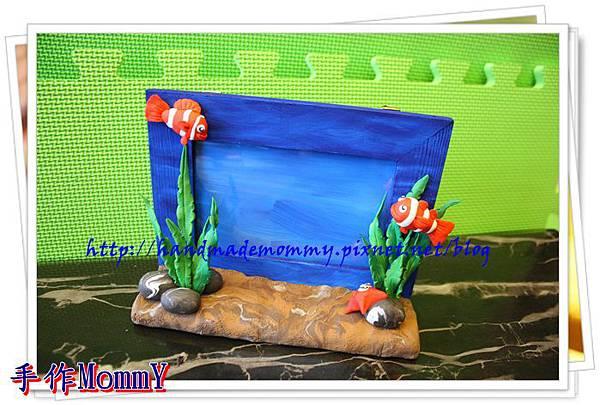 a2013,05,18-03-小丑魚相框=捏塑