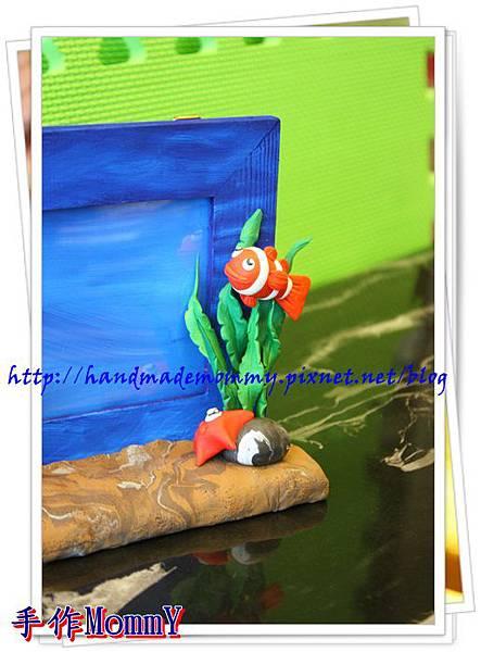 a2013,05,18-05-小丑魚相框=捏塑