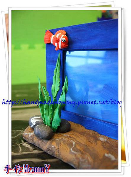 a2013,05,18-04-小丑魚相框=捏塑