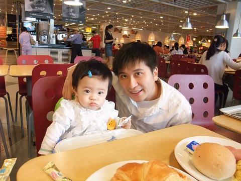 IKEA早餐with爸比