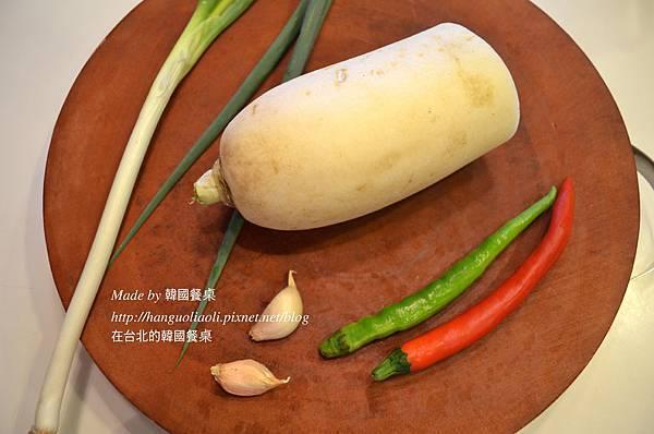 涼拌蘿蔔 Made by 韓國餐桌