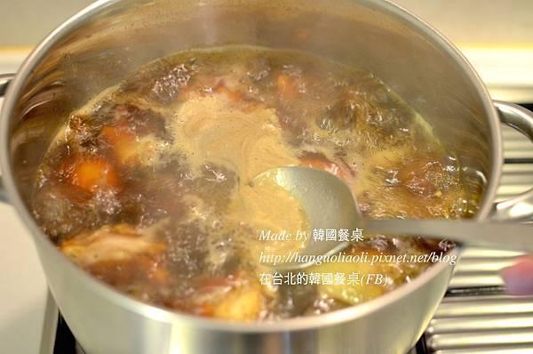 安東燉雞做法