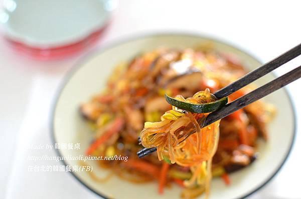 韓式黃豆芽炒冬粉做法