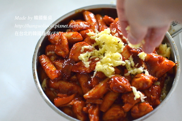 「食譜」 起司噴火雞,치즈불닭 by 韓國餐桌
