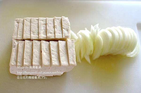 韓式醬煮豆腐做法