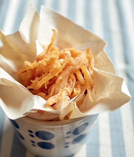 5.花生醬魷魚絲
