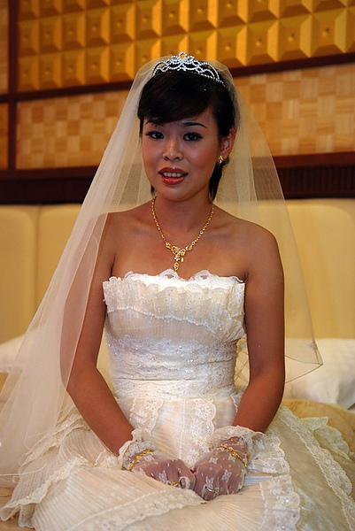 結婚白紗造型1