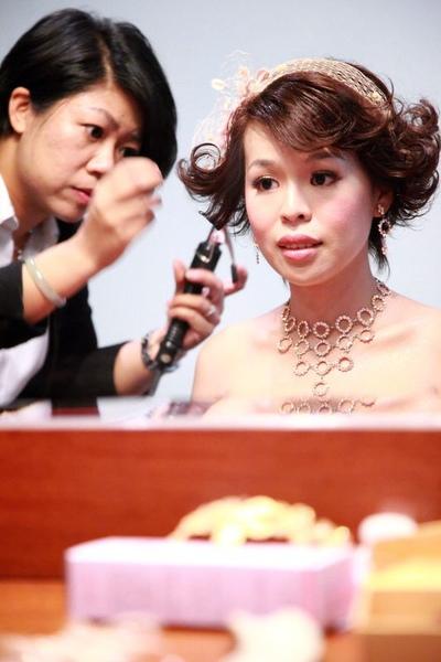 訂婚髮型2