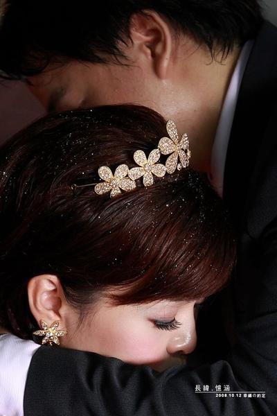 訂婚髮型1
