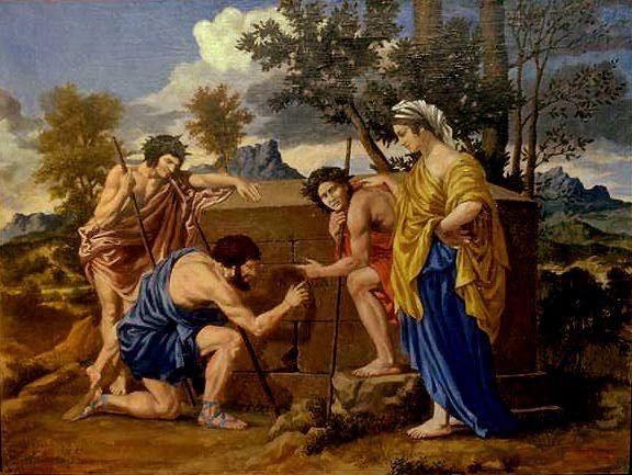 普桑 在阿卡迪亞Et in Arcadia ego 1638.jpg