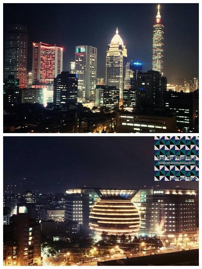 Taipei 101✤京華城✤松山文創園區✤夜景✤景色