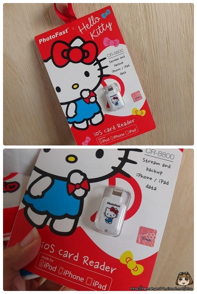 PhotoFast x Hello Kitty 蘋果 micro SD 讀卡機