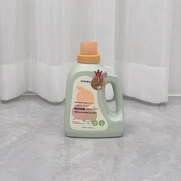 Usbaby優生嬰兒植淨酵素洗衣液體皂 ║嬰兒手洗精║育兒生活║嬰兒洗衣精║寶寶手洗精║天然環保║我不要變成黃臉婆