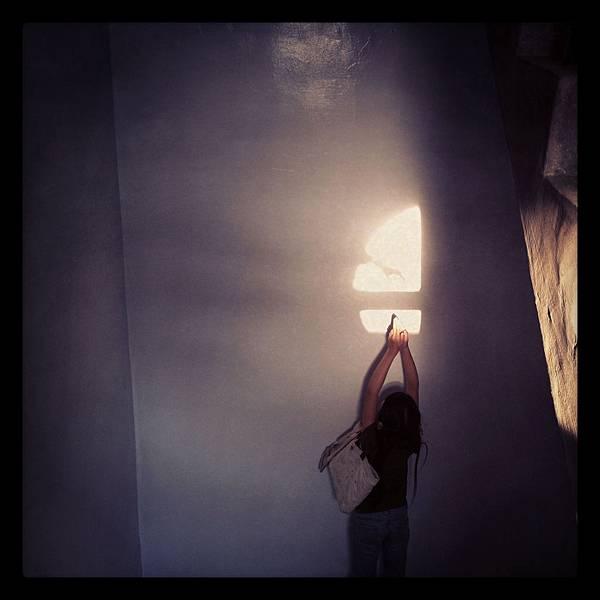 樓梯間的光