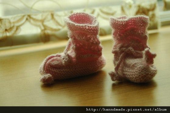 小粉襪套給Emma的