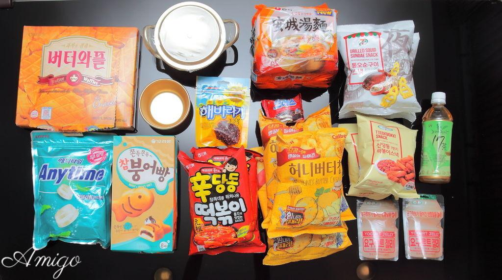 韓國樂天零食