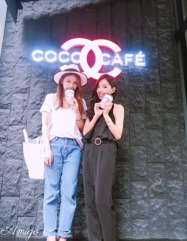 coco cafe chanel 香奈兒美妝快閃店