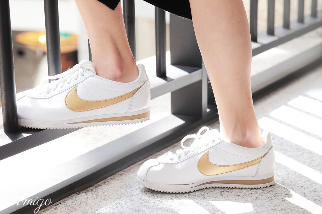 ASOS NIKE Gold Pack Cortez Trainers  阿甘鞋